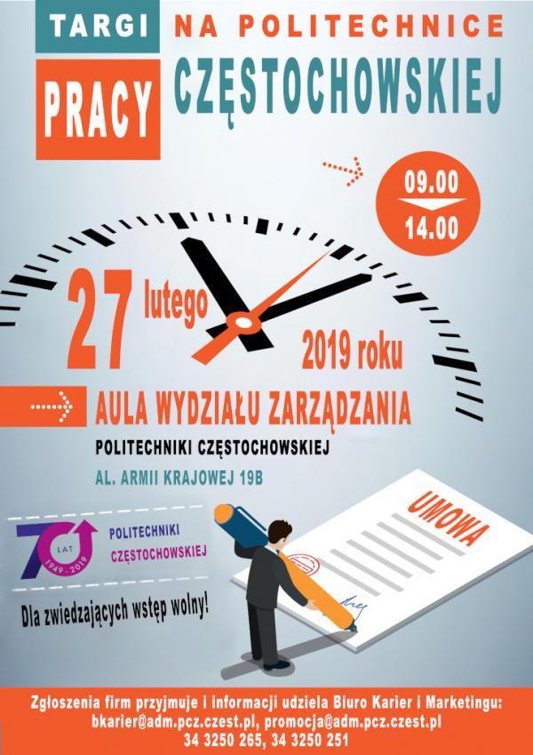 Tadex s.c. na targach pracy na Politechnice Częstochowskiej